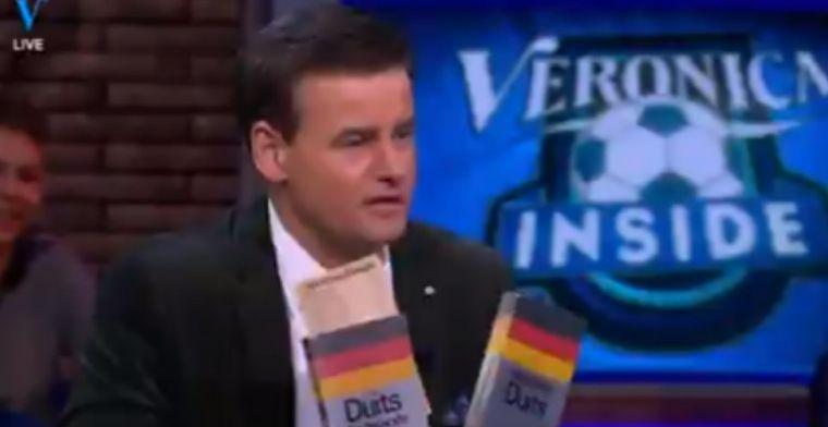 Je verwacht het niet: Kraay Jr. krijgt Duitse woordenboeken na 'Sieg Heil-moment'