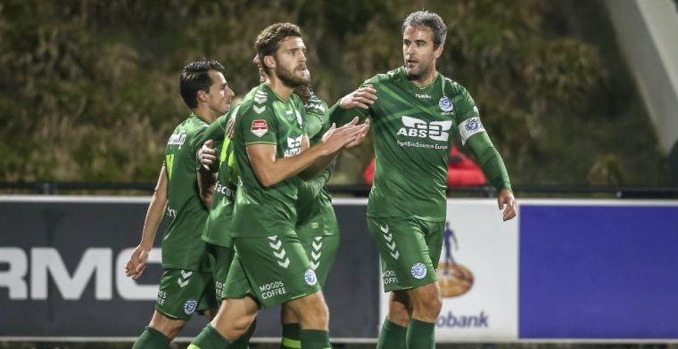 De Graafschap verliest voor het eerst dit seizoen, NEC verspeelt punten