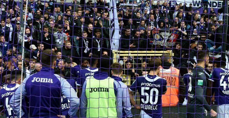 Anderlecht-fans fluiten eigen speler uit, Vandenbempt: Ik vond het schrijnend