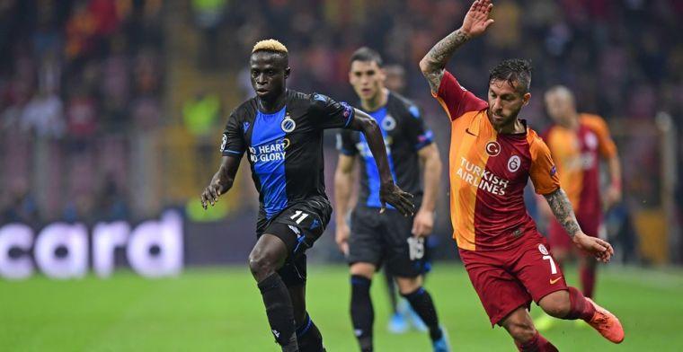 Club Brugge kan toch (klein) feest vieren na late gelijkmaker tegen Galatasaray