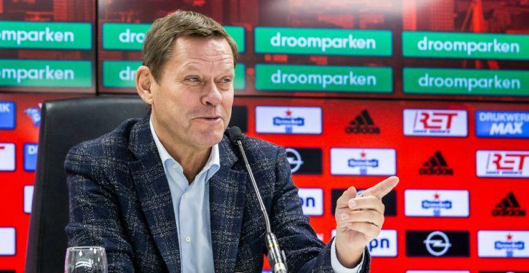 Arnesen verwacht 'loyaliteit' bij Feyenoord: 'Ik ben hier wel de voetbalman'