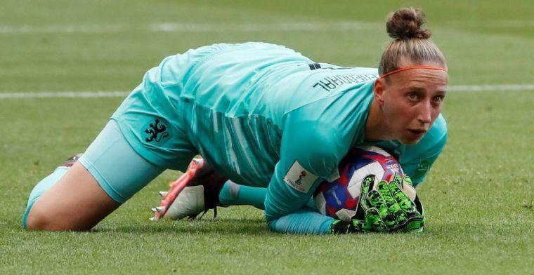 FIFA-statistiekenbureau roept Van Veenendaal uit tot beste keepster van 2019