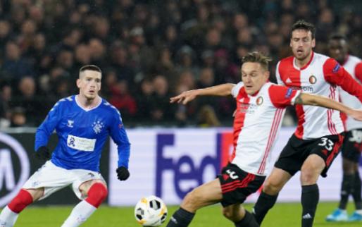 Afbeelding: Feyenoord geeft het weg tegen Rangers en heeft wonder nodig in Europa League