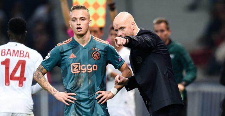 'Steeds meer schijt' bij Ajax-invaller: 'Ik weet dat ik hiervoor gemaakt ben'