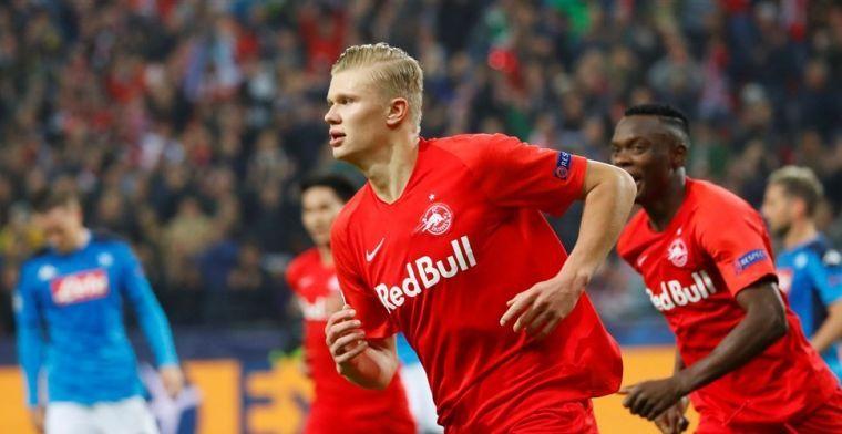 Manchester United gaat werk maken van Genk-beul Haaland