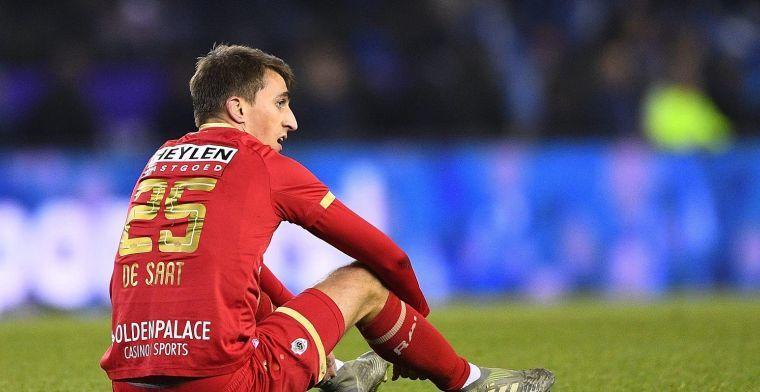 Antwerp-middenvelder weerlegt geruchten over gesprek met Anderlecht en Club Brugge