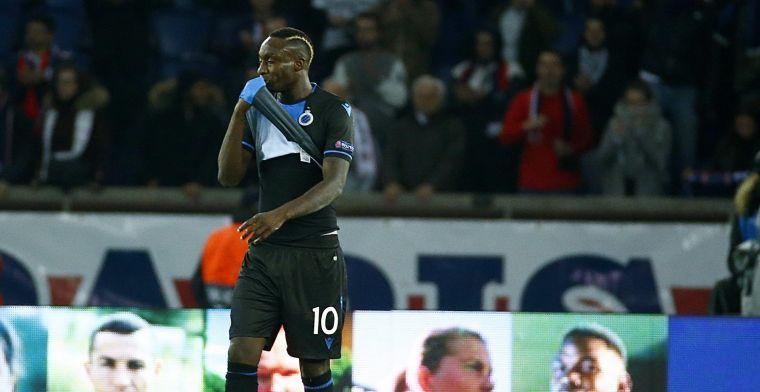 Diagne blijft hopen op terugkeer bij Club Brugge: 'Don't give up'