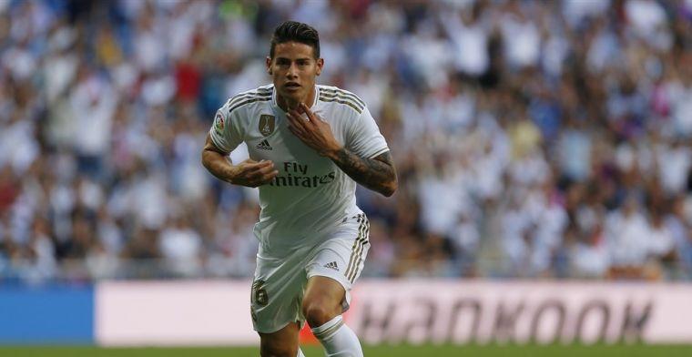 James wordt pas in de zomer verlost van reserverol in Madrid
