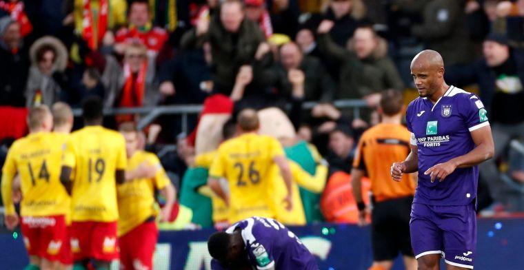 Anderlecht lijdt opnieuw pijnlijke nederlaag en ziet Play-Off 1 verder wegglijden