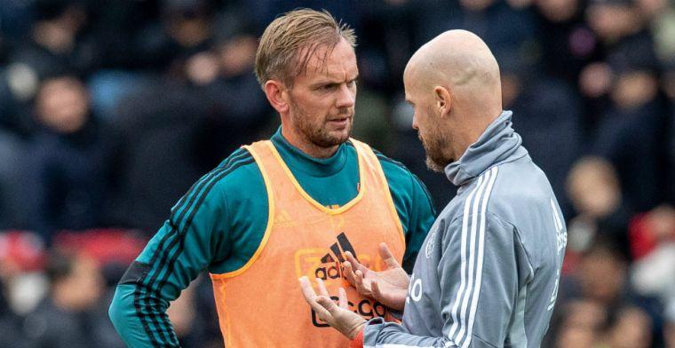 De Jong denkt na over vertrek bij Ajax: 'Niet altijd makkelijk om te accepteren'