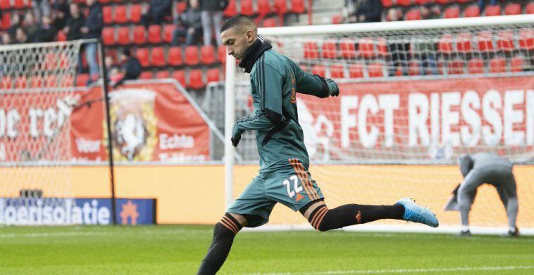 Bruggink weet hoe je Ziyech moet verdedigen: 'Hoe Mourinho altijd Robben afstopte'