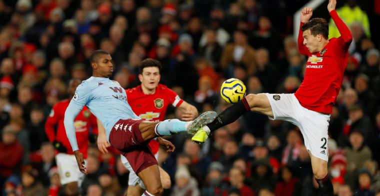 Bankzitter Engels ziet ploegmaats punt pakken tegen Man Utd