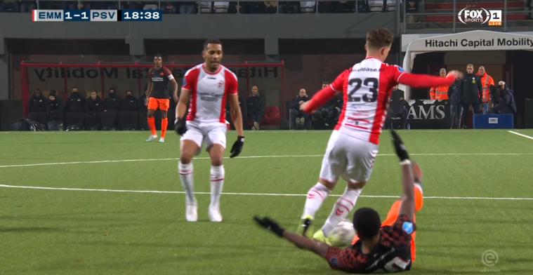 Doodzonde: VAR keurt wereldgoal Bijl van vijftig meter (!) tegen PSV af