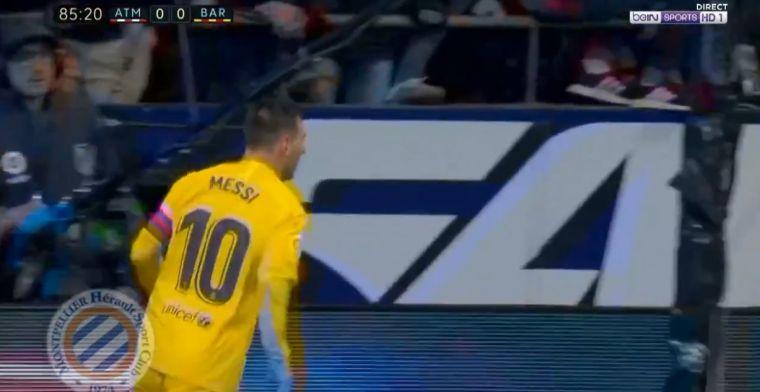 Buitenaardse baas: Messi velt Atlético en lijkt klaar voor Gouden Bal-verkiezing