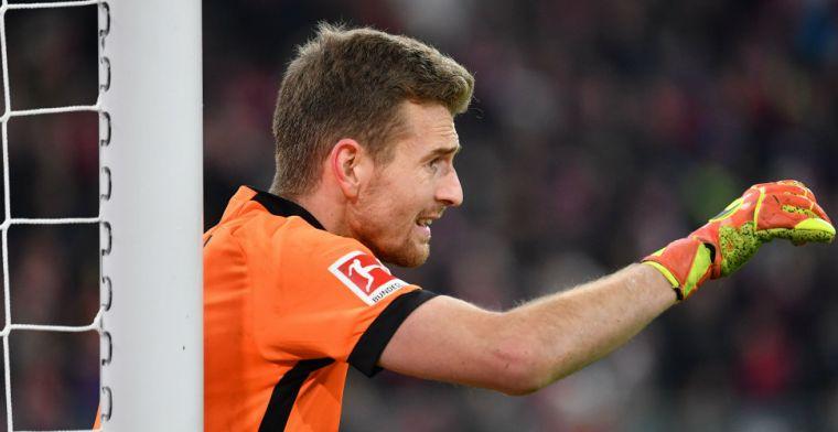 Hrádecký keept met één oog tegen Bayern: 'Blij dat de wedstrijd afgelopen is'