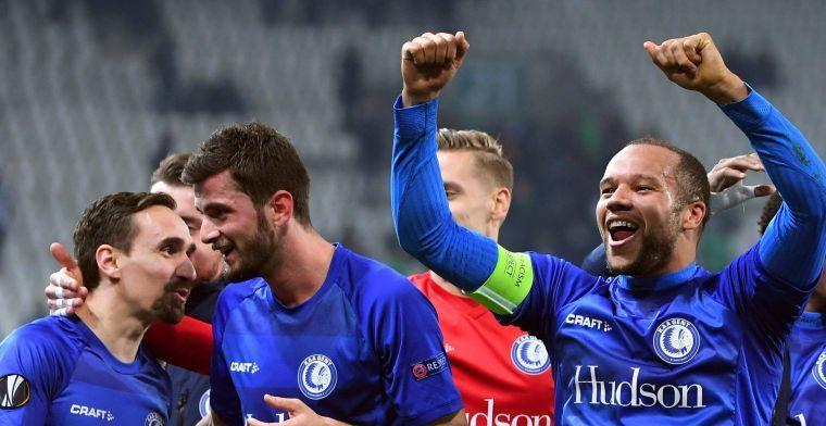 KAA Gent sluit speeldag al winnend af tegen KV Kortrijk