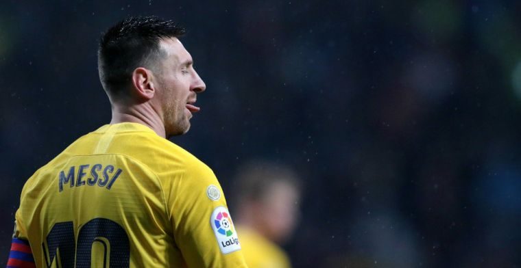 Messi schiet Barcelona in slotfase langs Atlético, Ter Stegen blinkt uit