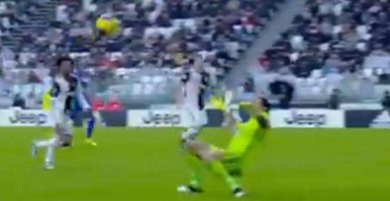 Tegenvaller voor Juventus, Boga laat Buffon met prachtig lobje kansloos
