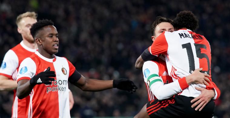 Feyenoord op het nippertje langs PEC Zwolle, Marsman de grote uitblinker