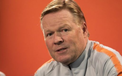 Afbeelding: KNVB maakt topaffiche bekend: Oranje oefent tegen rivaal Spanje richting EK