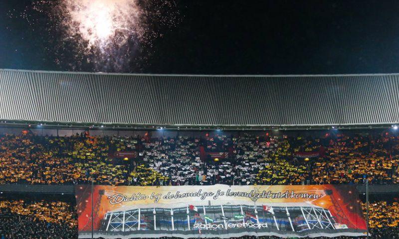 Afbeelding: UEFA onderzoekt wederom Feyenoord-vuurwerk: ook Lille-Ajax onder de loep
