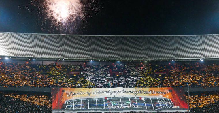 UEFA onderzoekt wederom Feyenoord-vuurwerk: ook Lille-Ajax onder de loep