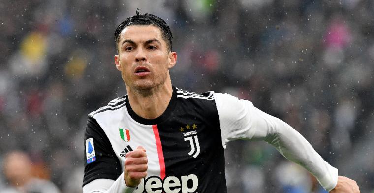 'Ronaldo wacht Serie A-gala af in auto en stapt uit als hij een prijs kan ophalen'