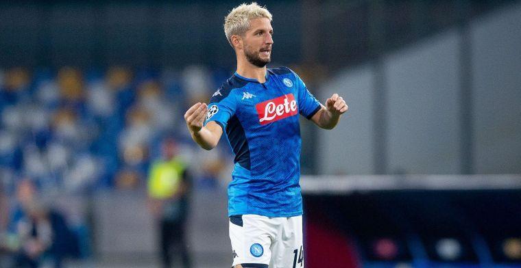 Commotie bij Napoli blijft: 'Nu stuurt Ancelotti Mertens en co op afzondering'