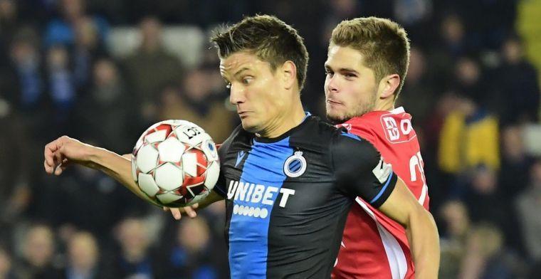 Club Brugge viert comeback van Vossen: Ik werk hard op training