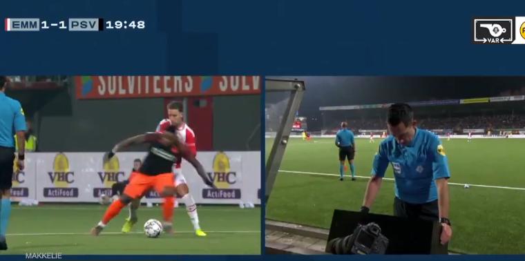 VAR-moment van de week in Emmen: 'Hij pakt hem bij het shirt, ik wil dat je kijkt'