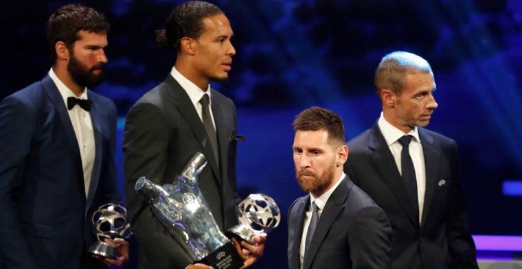 LIVE: Messi wint zijn zesde Ballon d'Or