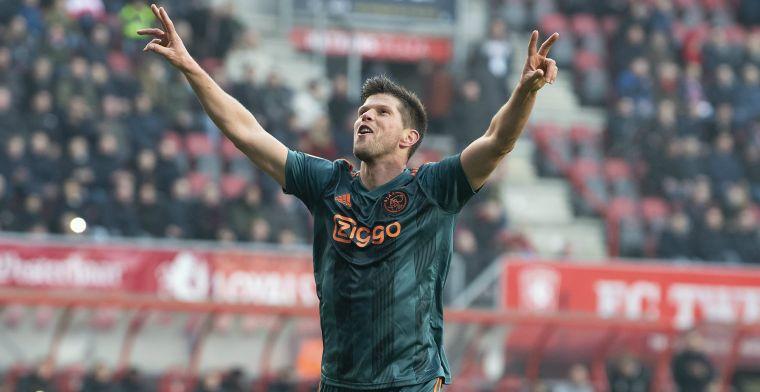 Volop lof voor 'fenomeen' van Ajax: 'Ik zie ook geen reden om al te stoppen'
