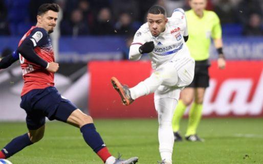 Afbeelding: Lille gaat winnen bij Lyon en stijgt weer naar Europese plaats