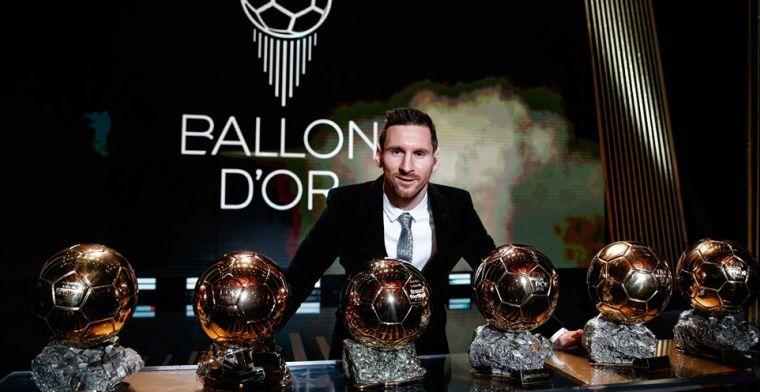Volledige uitslag Gouden Bal: Messi blijft Van Dijk slechts héél nipt voor
