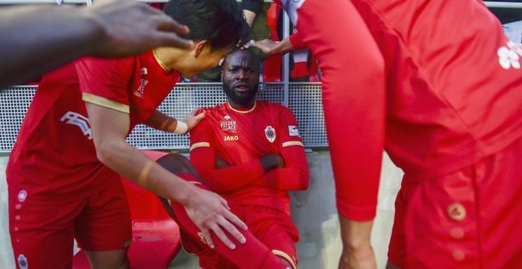 'Antwerp-coach Bölöni weer in de clinch met Lamkel Zé'