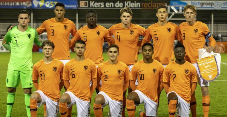 Gunstige loting voor Oranje O19: tegenstanders in strijd om EK-ticket zijn bekend