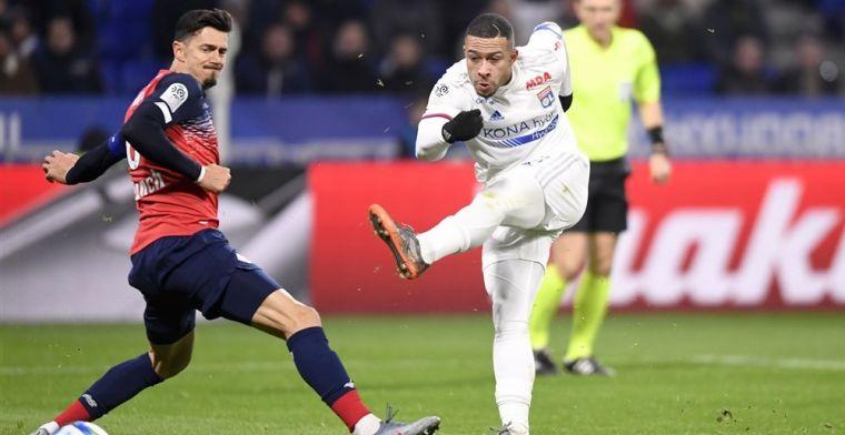 Lille gaat winnen bij Lyon en stijgt weer naar Europese plaats