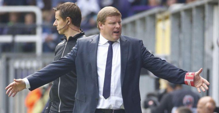 Vanhaezebrouck spaart kritiek voor Anderlecht niet: Het is echt shocking