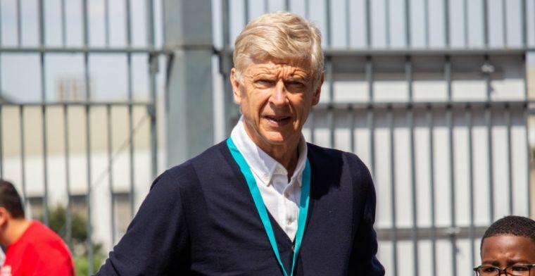 Wenger wil oude club Arsenal helpen: 'Als hij wil, ben ik beschikbaar'