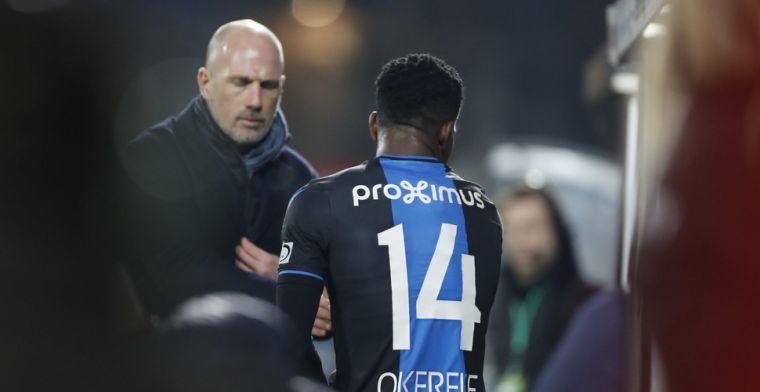 Weinig begrip om vroege wissel Club Brugge: 'Ook goed voor vertrouwen'