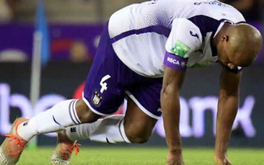 UPDATE: 'Anderlecht zou Kompany zo'n drie weken moeten missen'