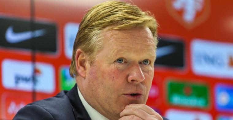 'Ik zou alleen vertrekken bij Oranje als Barça zich meldt, het is aan Barcelona'
