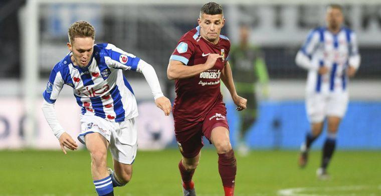 'Europese clubs melden zich voor Linssen, ook Amerika is een optie'