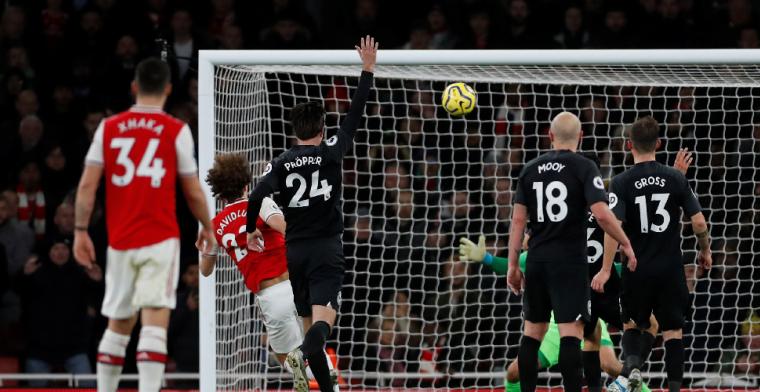 Arsenal verliest thuis van Brighton, al negen wedstrijden zonder overwinning