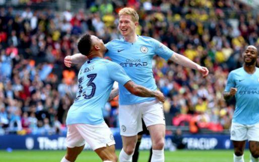 DERBY! Man City en De Bruyne zorgen tegen Utd voor doelpuntenfestival