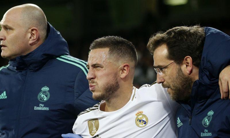 Afbeelding: Hazard opnieuw weken out bij Real Madrid, tot grote teleurstelling van Zidane