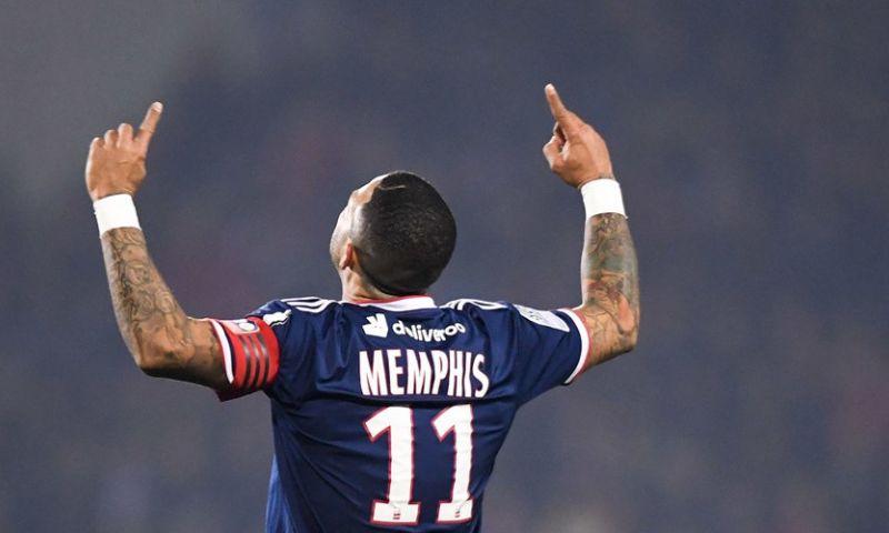 Afbeelding: Memphis in bloedvorm bij Lyon, Inter gelijk tegen Roma, weer geen winst Atlético