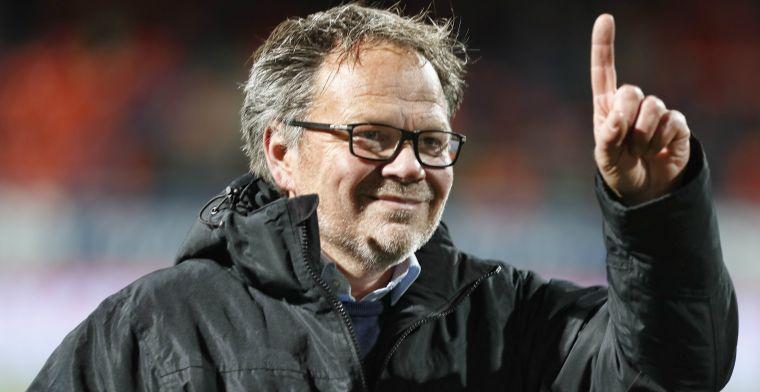 'Dan komt er extra geld. Als we in de Eredivisie zijn, willen we er ook blijven'