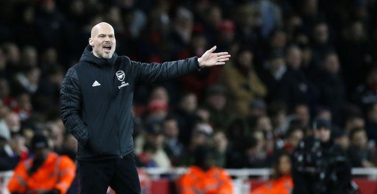 Ljungberg schrikt van 'waardeloos' Arsenal: 'Allemaal bang om de bal te krijgen'