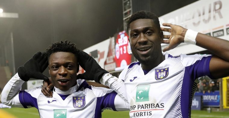 Amuzu en Doku (Anderlecht) gaan Memphis achterna: 'Kritiek raakt hen niet'